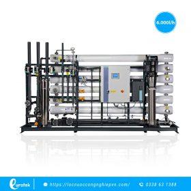 Hệ thống lọc nước RO công nghiệp công suất 6000LH