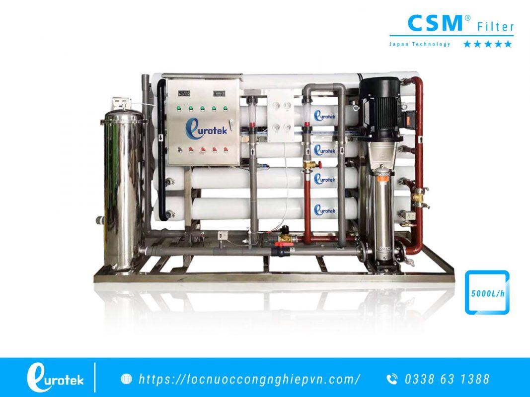 Hệ thống lọc nước RO công nghiệp 5000lh